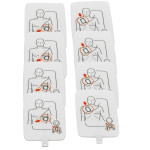 Prestan Professional AED UltraTrainer Pads, 4 Pack, PP-UTPAD-4