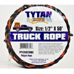 Black & Orange Rope 1/2 inch x 50' - T220BO