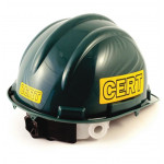 C.E.R.T. Deluxe Hard Hat - 5 Point Suspension - T77CRT-DLX
