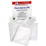 CPR & First Aid Student Training Kit, 8 Pieces - TK-ACTCOM