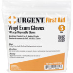 Disposable Gloves, Large, 5 Pair Per Bag, 2026