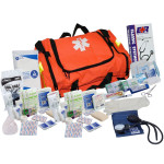 First Responder Kit - 151 Pieces - Orange - URG-999207