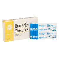 Sterile Adhesive Butterfly Closure, 16 Per Box - 0119