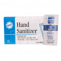 Hand Sanitizer, 10 Per Box, 0436