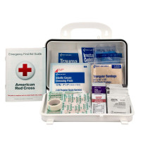 25 Person Basic OSHA First Aid Kit, First Aid Only, 06090