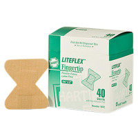 Fingertip Woven Adhesive Bandages, 40/BX, 1079