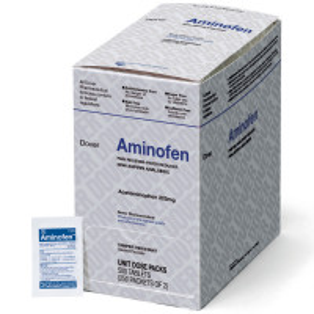 Aminofen - Acetaminophen 325mg, 500/box, 1625303