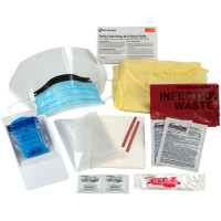 16 Piece Bodily Fluid Clean Up Pack - 214-P