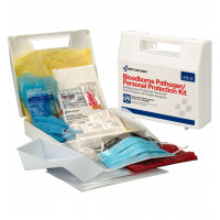 Bloodborne Pathogen/Personal Protection Kit w/ 6 pc CPR - 216-O
