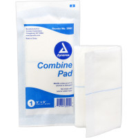 ABD Combine Pad 5 in. x 9 in. Sterile - 1 each - 2541