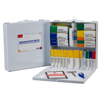Restaurant First Aid Kit - Metal - Meets OSHA Regulations - 260-U/FAO