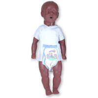 6 to 9 Month Old Kevin w/ Carry Bag - African American - 2976B