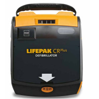 LIFEPAK CR Plus Automated External Defibrillator Kit Semi-automatic AHA voice prompt - 80403-000148