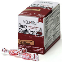 Cherry Cough Drops, 50/box, 81550