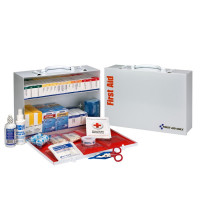 2 Shelf First Aid ANSI B+ Metal Cabinet, with Meds - 90573