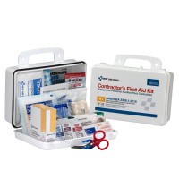 25 Person Contractor ANSI A+ First Aid Kit, Plastic Case  - 90753