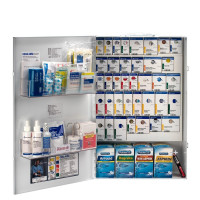 XXL Metal Smart Compliance General Business First Aid Cabinet with Meds, 90832