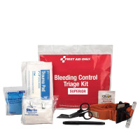 Bleeding Control  Triage Kit - Superior, Plastic Bag, 91107