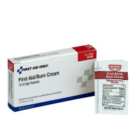 First Aid/Burn Cream - .9 gram - 12 Per Box - AN4040