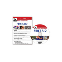 AEHS First Response: The First Aid Video, English (DVD) - BFAVID-DVD