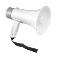 10W Rechargeable Megaphone (Talk, Record, Play Music) - C/66M