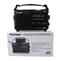 The Kaito Voyager - Solar & Crank Weather Alert Radio - C/79-500