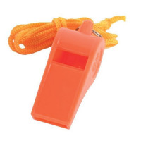 Plastic Whistle with Lanyard - C/88P