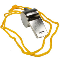 Metal Whistle with Lanyard - C/88Q