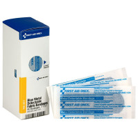 "1"" X 3"" Blue Metal Detectable Bandages, 40 Per Box - SmartTab EzRefill - FAE-3011"