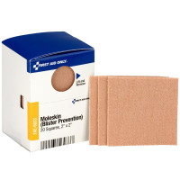 "2"" X 2"" Moleskin Blister Prevention, 20 Per Box - SmartTab EzRefill - FAE-6033"
