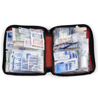 All Purpose First Aid Kit, soft bag, 187 Pieces - Large - FAO-452