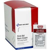 First Aid/Burn Cream, .9 gram - 144 Per Box - H343