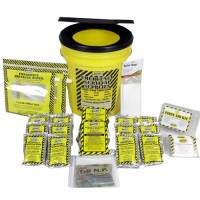 Economy Emergency Kit  - 2 Person - Honey Bucket - KEC2P
