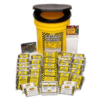 Economy Emergency Kit - 4 Person - Honey Bucket - KEC4P