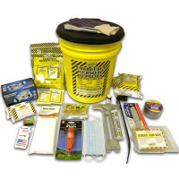 2 Person Deluxe Emergency Honey Bucket Kit - KEX2P