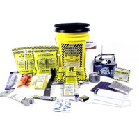 3 Person Deluxe Emergency Honey Bucket Kit - KEX3P