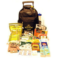 Roll and Go Survival Kit on Wheels - Two Person - KT-WH2
