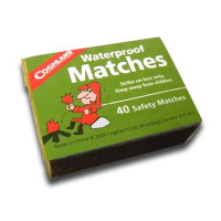 Waterproof Matches Box of 40 - L21