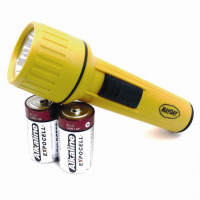 Flashlight Uses D Size Batteries - L77
