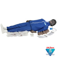 CPARLENE Full Manikin w/ Electronic Connections - Black - LF03813U