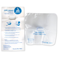 CPR Face Shield, One-Way Valve - M5042