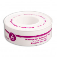 1/2 inch x 5 yard Waterproof Tape - Plastic Spool - 1 Each - M685-P