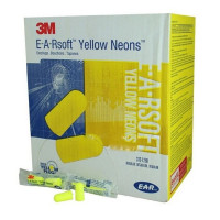 Disposable Uncorded Earplugs - 200 Pair Per Box - 312-1250