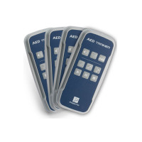 Prestan Professional Automated External Defibrillator Trainer Remote, 4 Pack - PP-AEDT-400-R