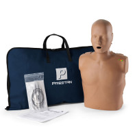 Prestan Adult CPR Manikin w/ Monitor - Dark Skin - PP-AM-100M-DS
