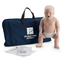 Prestan Infant / Baby CPR Manikin w/o Monitor - Medium Skin - PP-IM-100-MS