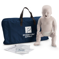 Prestan Infant / Baby CPR Manikin w/o Monitor - Light Skin - PP-IM-100