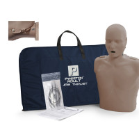 Prestan Adult Jaw Thrust CPR Manikin w/o Monitor - Dark Skin - PP-JTM-100-DS