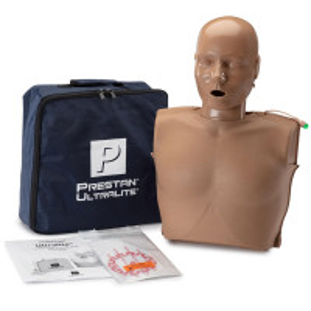 PRESTAN Ultralite Manikin with CPR Feedback, Dark Skin, PP-ULM-100M-DS