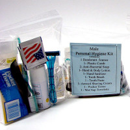 14 Piece Personal Hygiene Kit (Male) - PP44M-KT